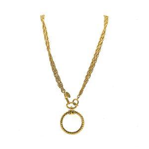 Vintage Chanel Loupe Necklace