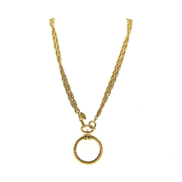 Vintage Chanel Loupe Necklace