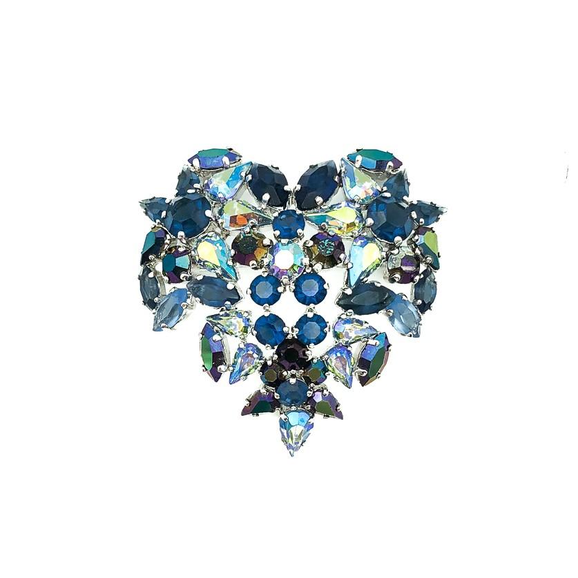 Vintage Dior Heart Brooch