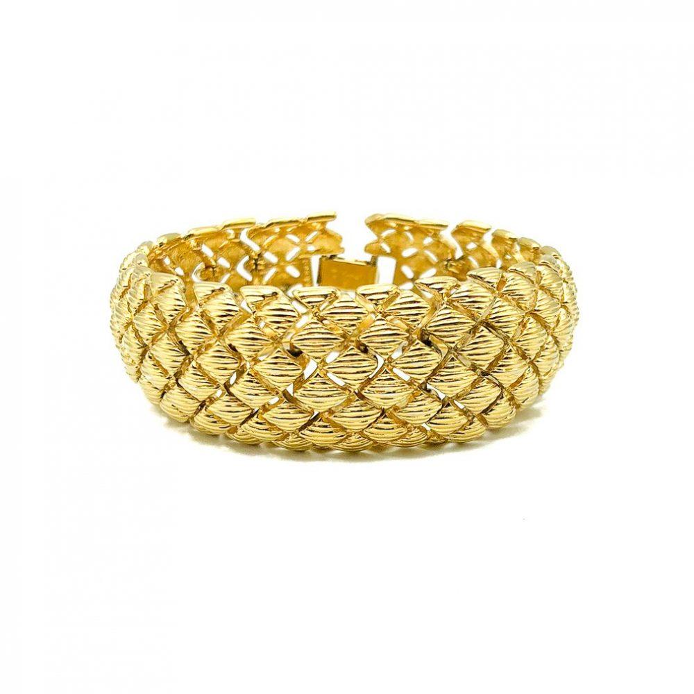 Vintage Monet Weave Bracelet