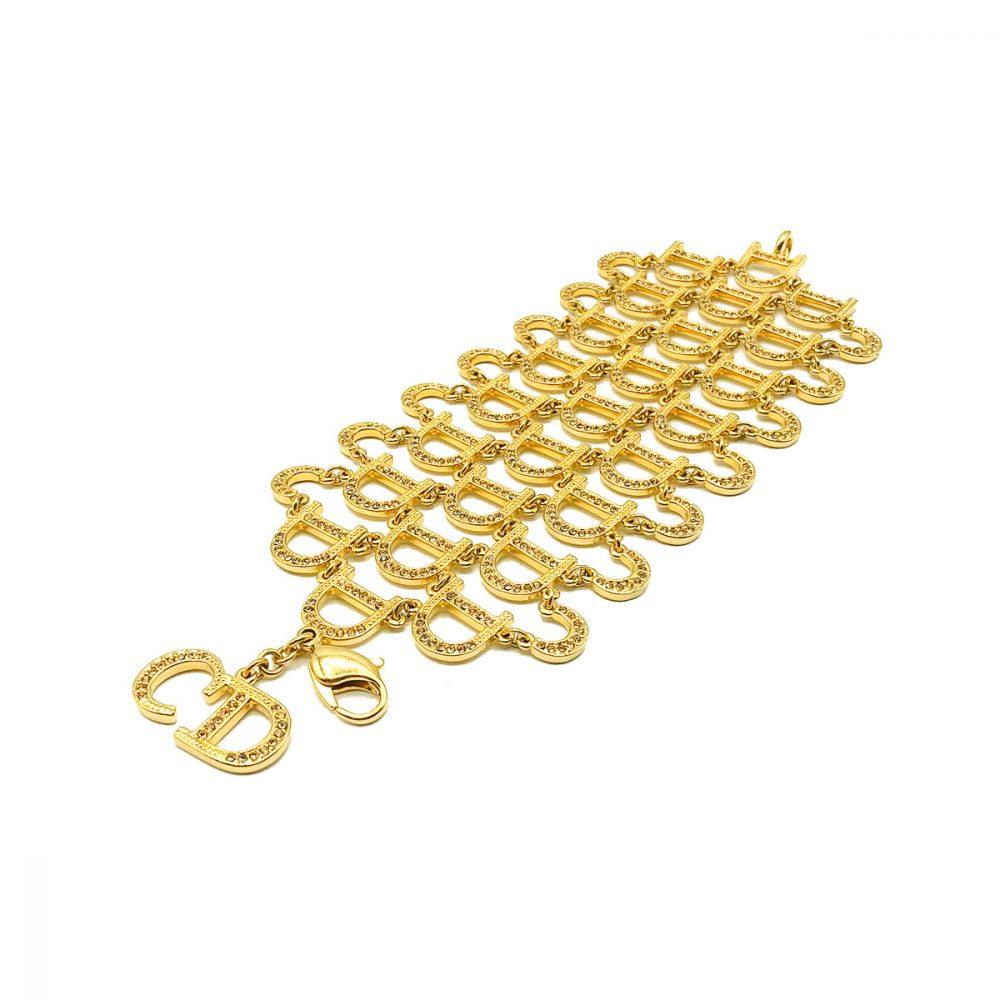 Vintage Dior Chainmail Cuff