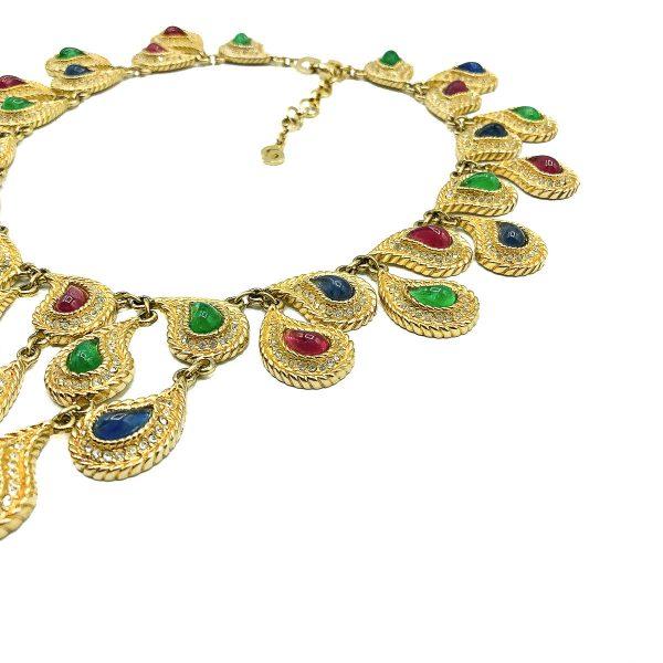 Vintage Dior Mughal Bib Necklace