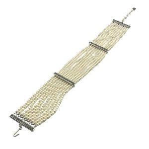Vintage Dior Pearl Choker Necklace