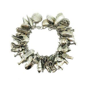 Vintage French Charm Bracelet