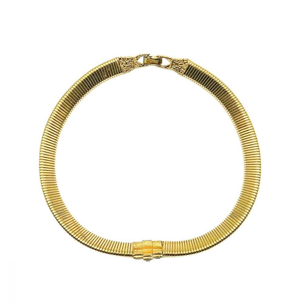 Vintage Nina Ricci Ruby Collar