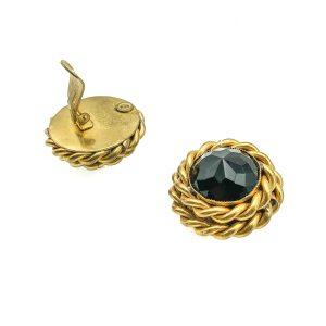 Vintage Butler & Wilson Black Earrings