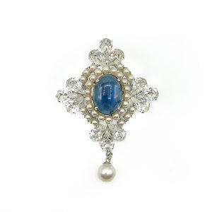 Vintage Christian Dior Renaissance Brooch