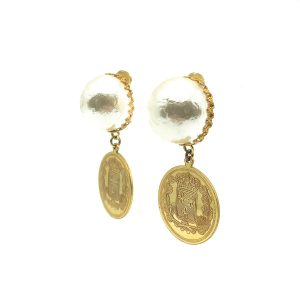 Vintage Haskell Pearl Earrings