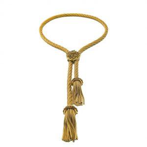 Vintage Lariat Tassel Necklace