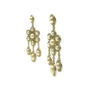 Vintage Monet Cascade Earrings