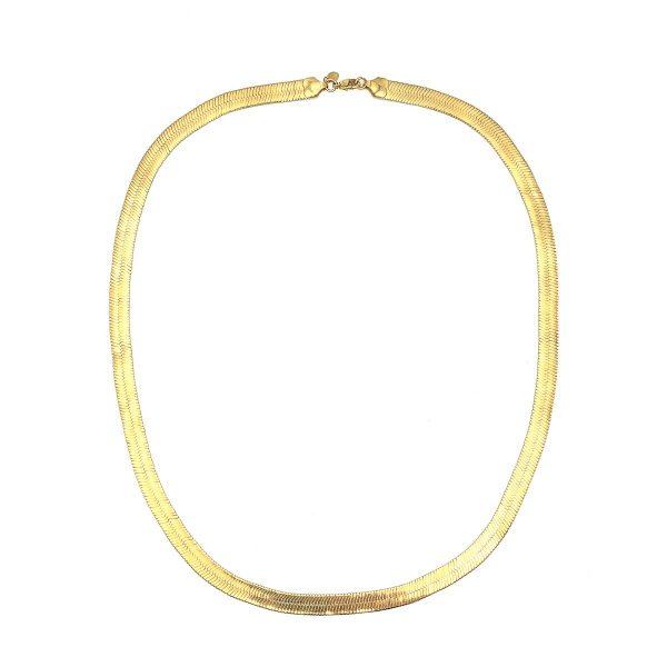 Vintage Monet Snake Necklace