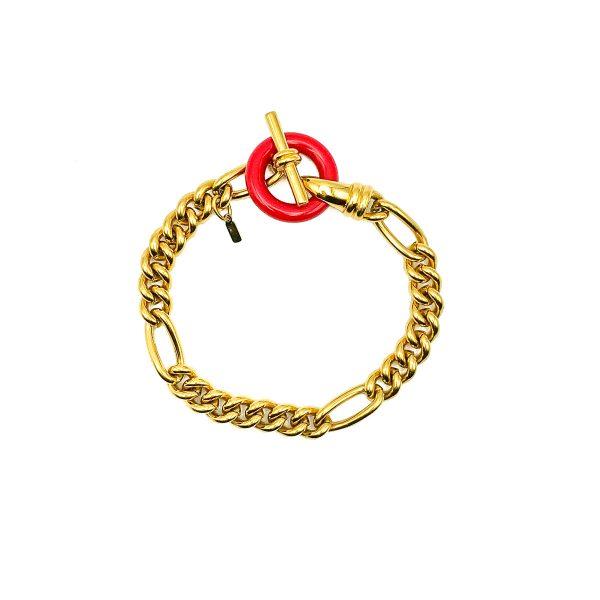 Vintage Monet T Bar Bracelet