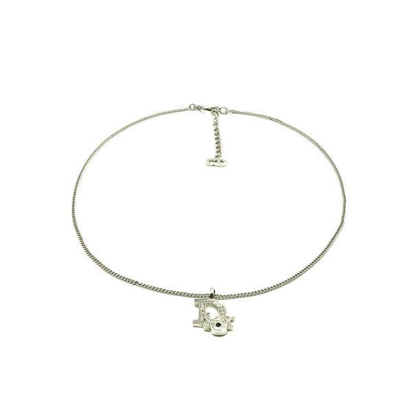 Vintage Dior Spellout Necklace