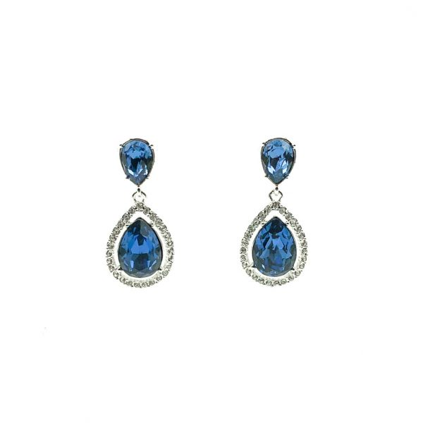 Vintage Givenchy Sapphire Earrings
