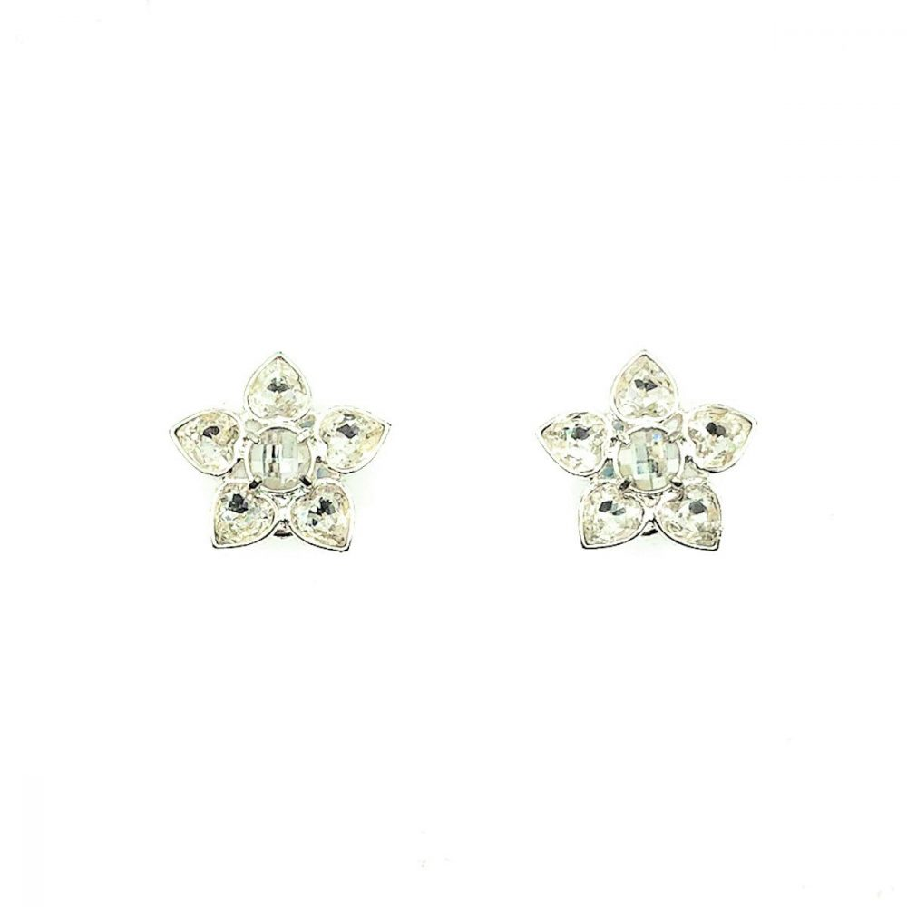Vintage Givenchy Flower Earrings