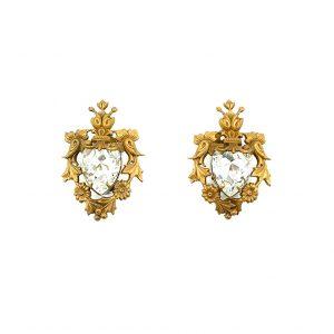 Vintage Joseff Crystal Earrings