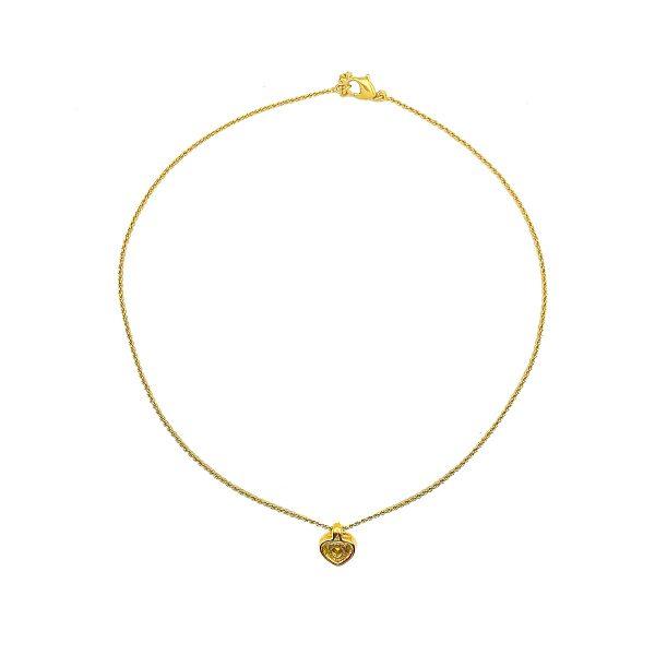 Vintage Dior Heart Necklace