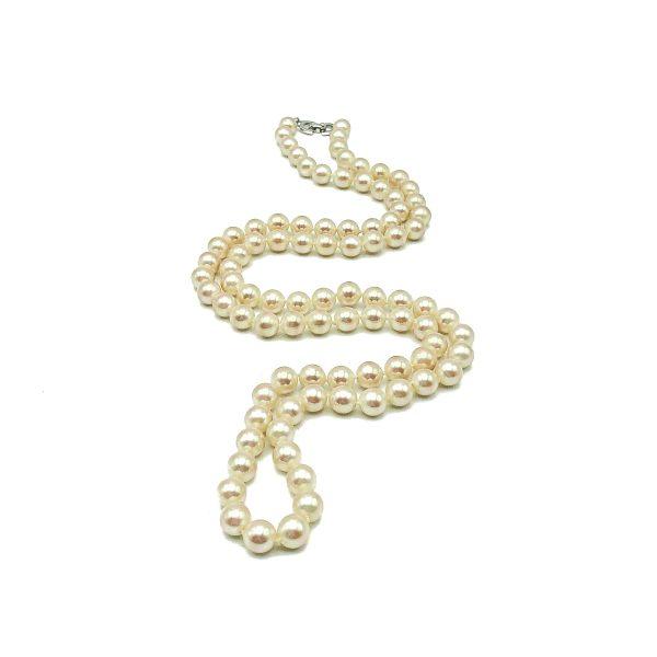 Vintage Dior Pearl Rope Necklace