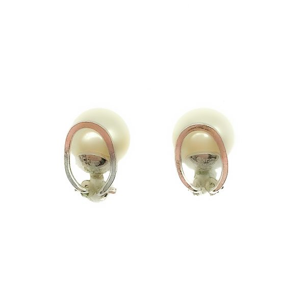 Vintage Dior Petite Pearl Earrings