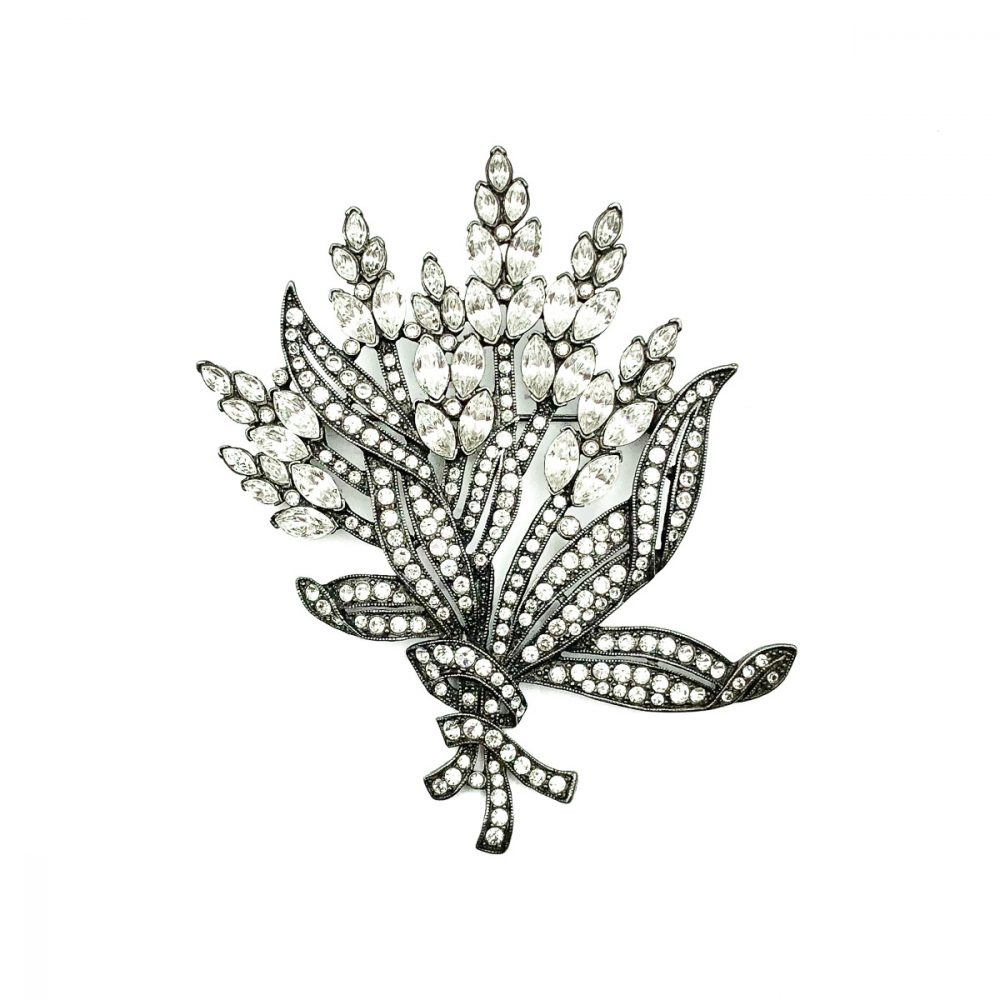 Vintage Monet Floral Brooch