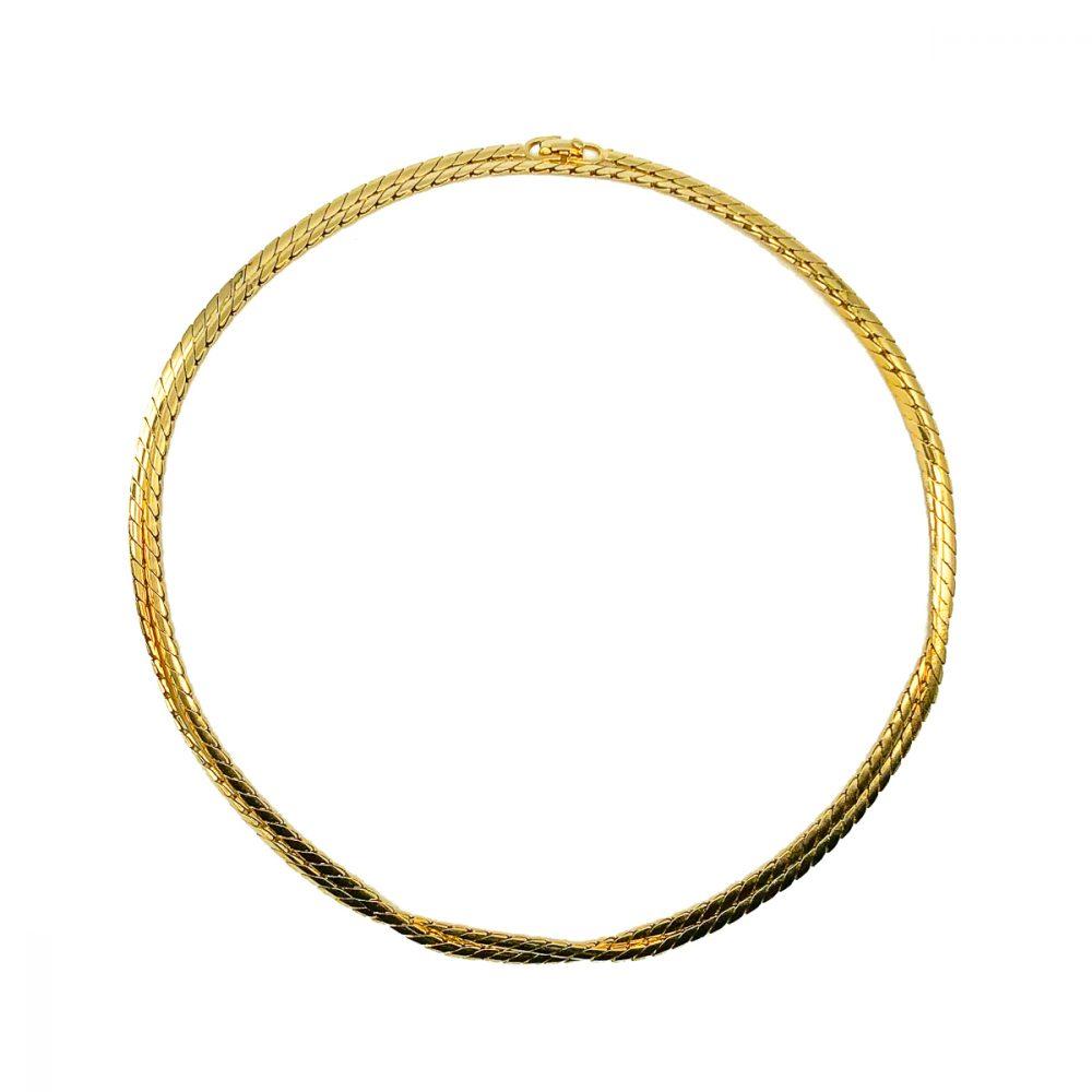 Vintage Dior Long Snake Chain