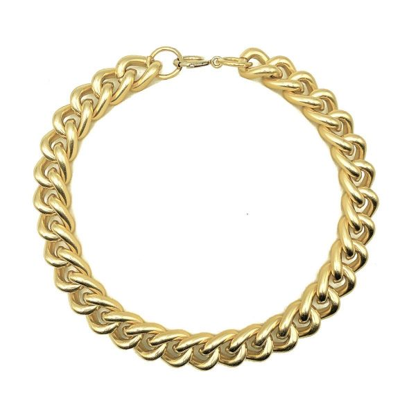 Vintage Gold Chunky Curb Chain