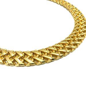 Vintage Grosse Herringbone Necklace