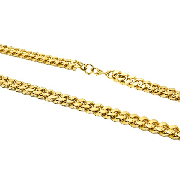 Vintage Monet Flattened Curb Link Chain