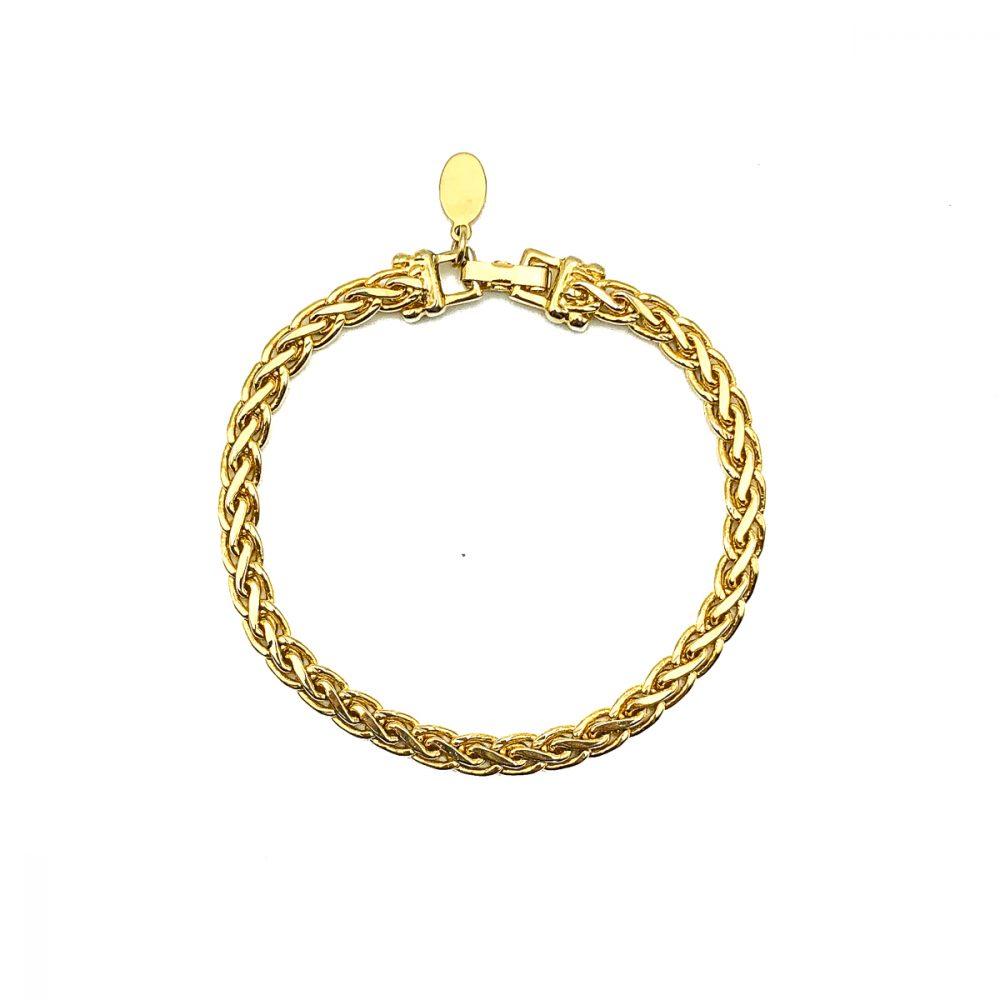 Vintage Soleil Chain Bracelet