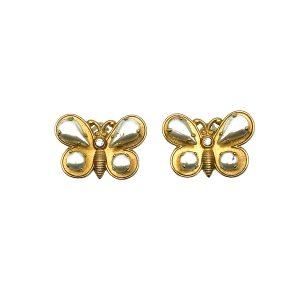 Vintage Zoe Coste France Butterfly Earrings