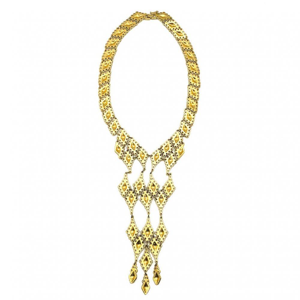 Vintage DOrlan Bib Necklace