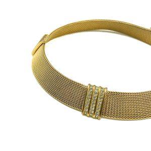 Vintage Dior Mesh Collar