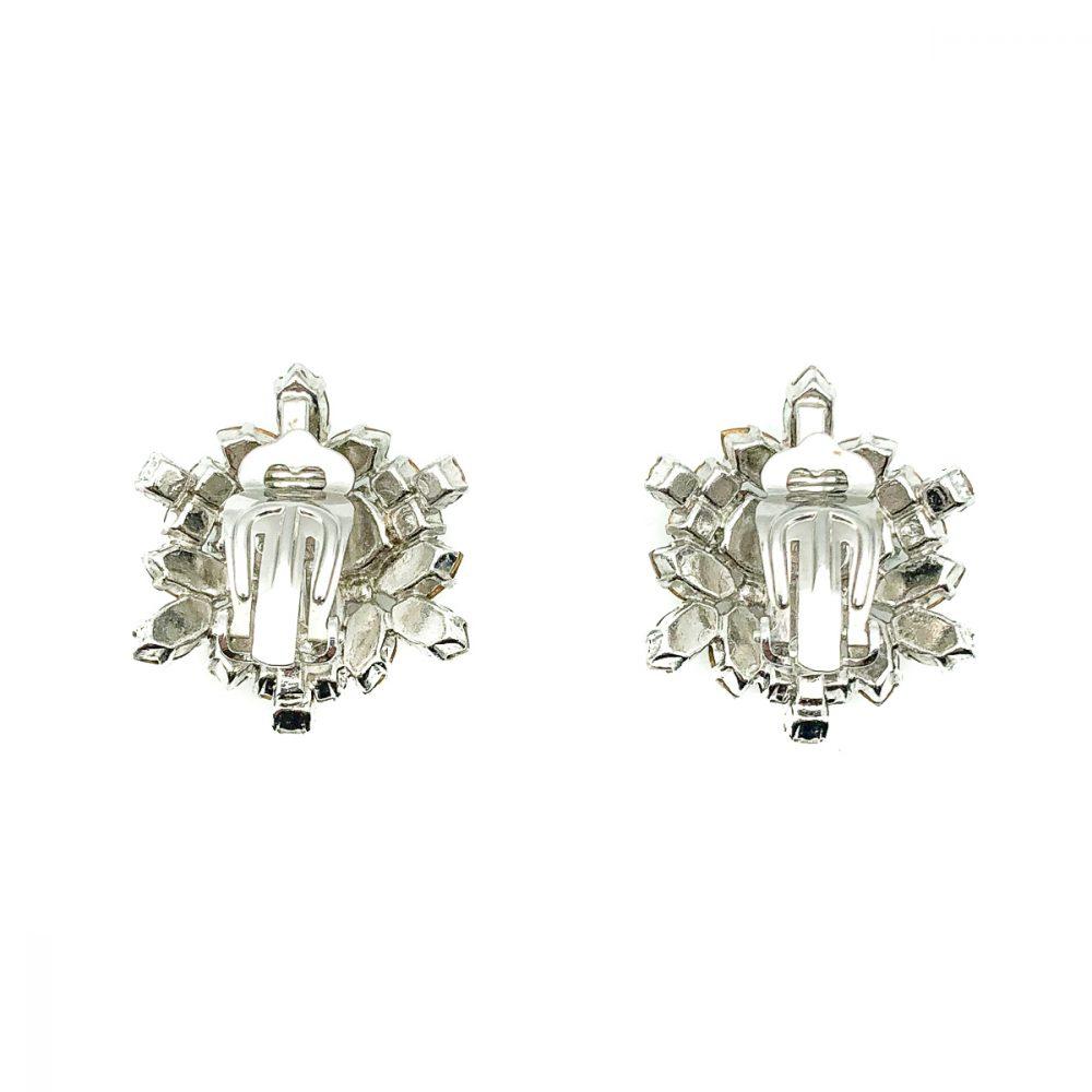 Vintage Dior Pearl Star Earrings