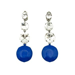 Vintage Emilio Pucci Crystal Earrings