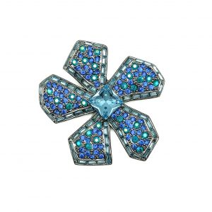 Vintage Givenchy Flower Brooch