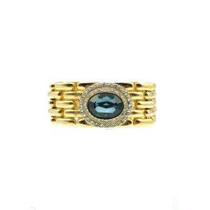 Vintage Givenchy Sapphire Bracelet