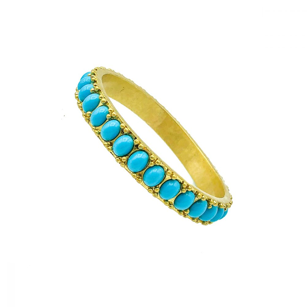 Vintage Turquoise Bangle