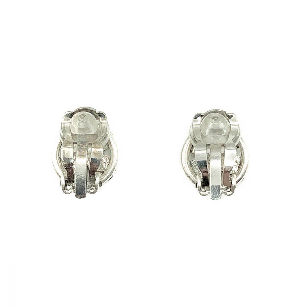 Vintage Chanel Lucky Shamrock Earrings