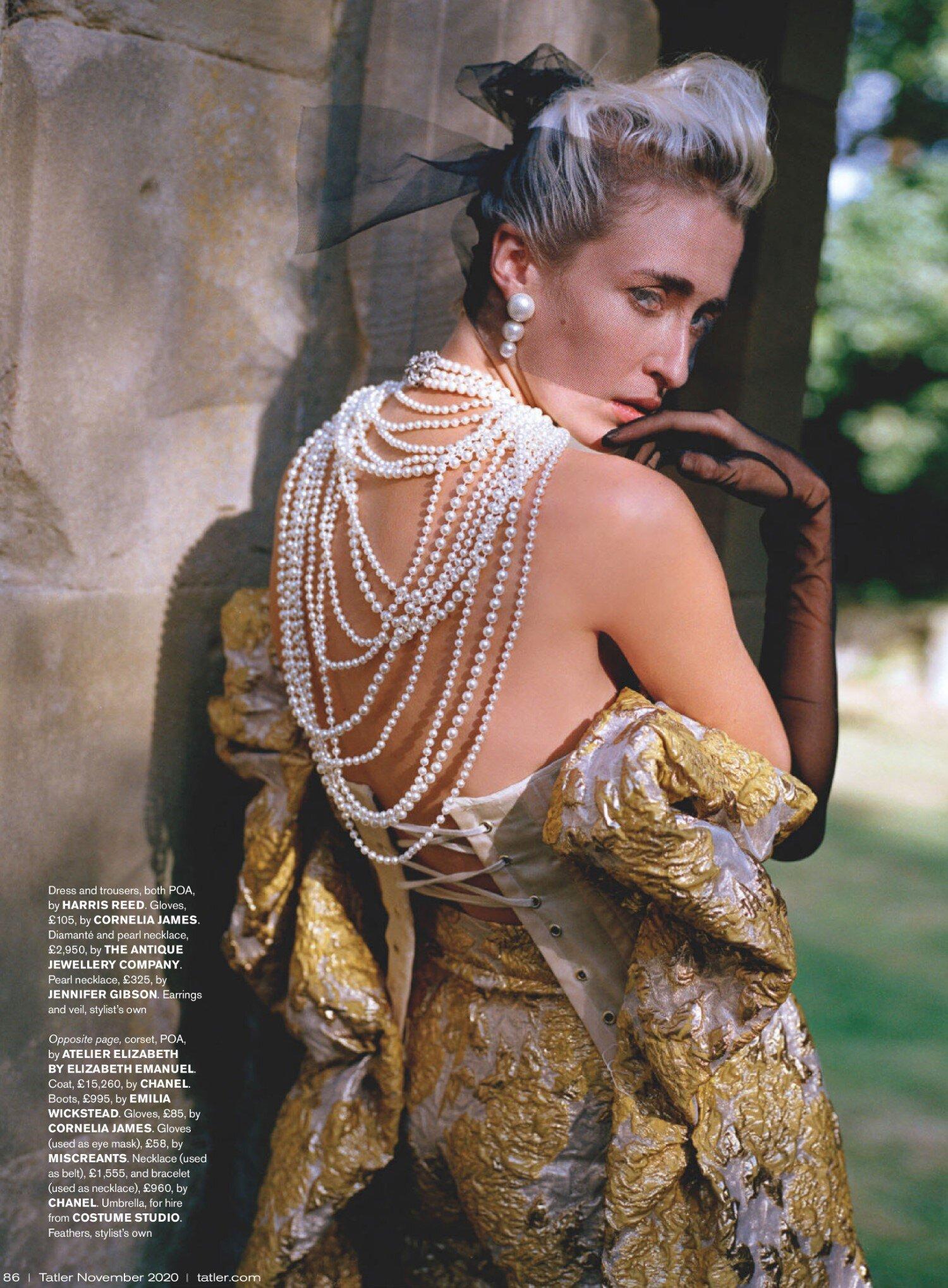 Jennifer Gibson Jewellery Pearl Necklace Georgia Howorth Oli Kearon Tatler Nov 2020 (2)