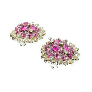 Vintage Dior Heart Earrings