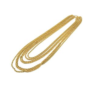 Vintage Dior Multi Chain Necklace