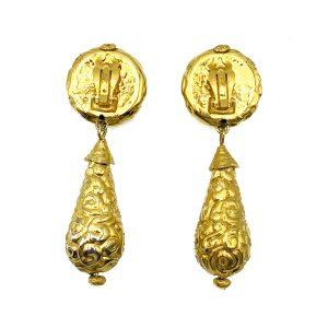 Vintage YSL Bomb Earrings