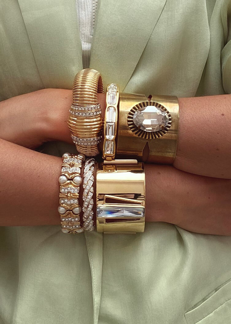 Jennifer Gibson Vintage Cuffs Capsule Collection