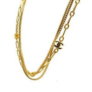 Vintage Chanel Logo Chain