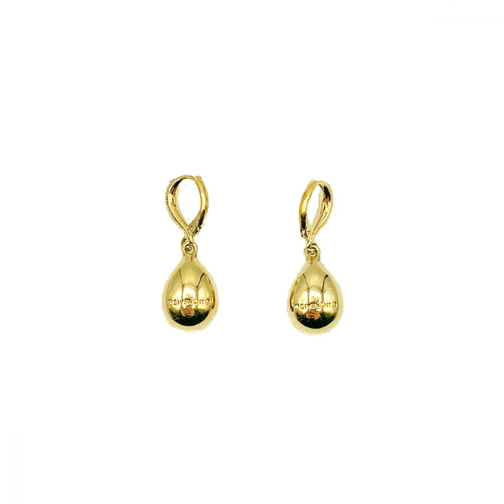 Givenchy Ruby Droplet Earrings