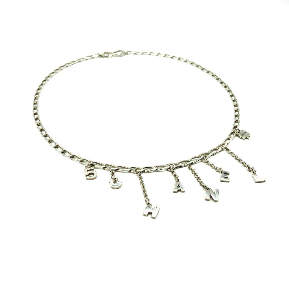 Vintage Chanel No.5 Necklace