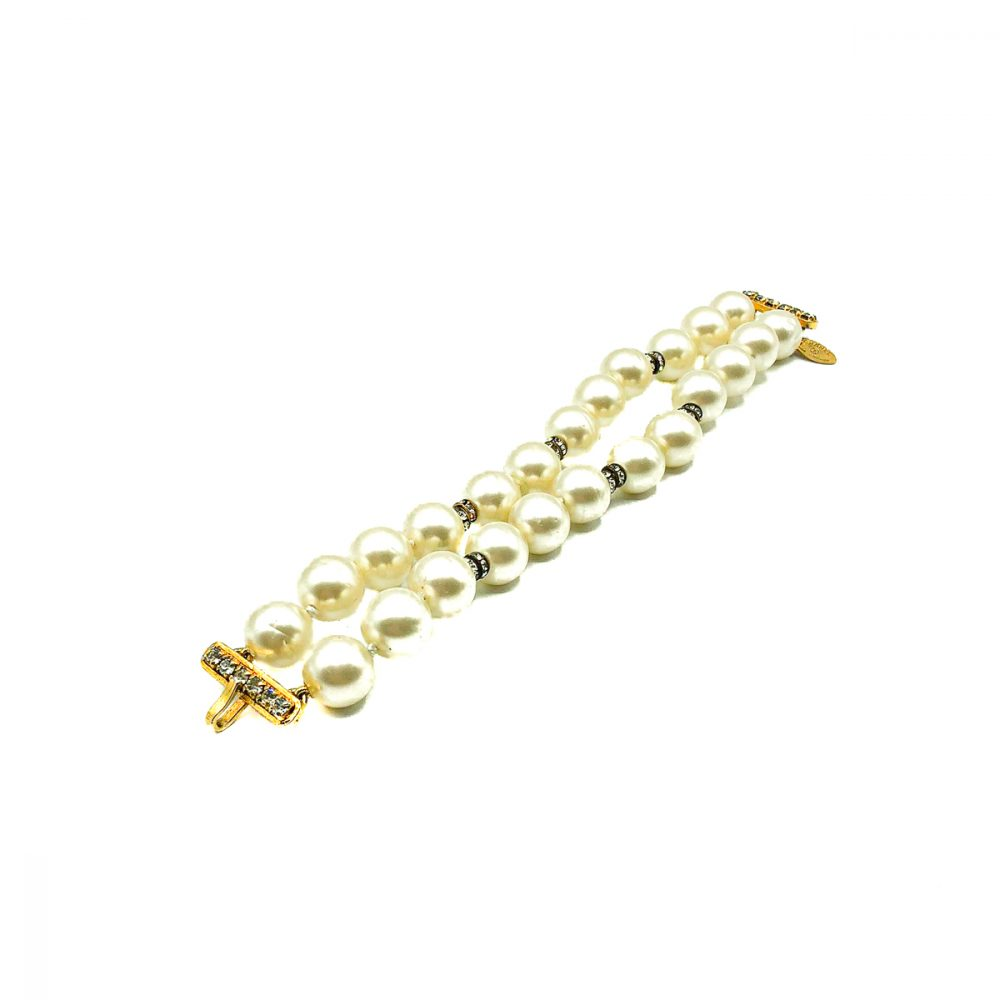 Vintage Chanel Pearl Bracelet