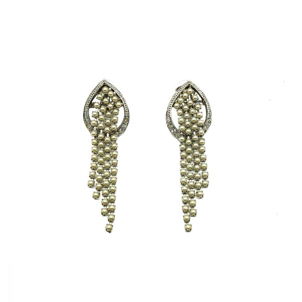 Vintage De Liguoro Waterfall Earrings