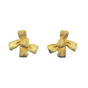 Vintage Dior Bow Earrings