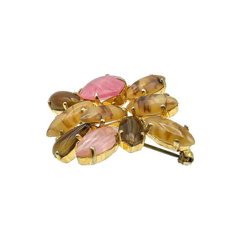 Vintage Dior Glass Brooch